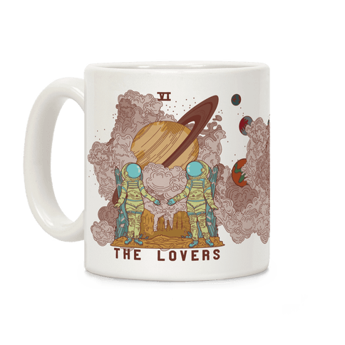The Lovers in Space Coffee Mug