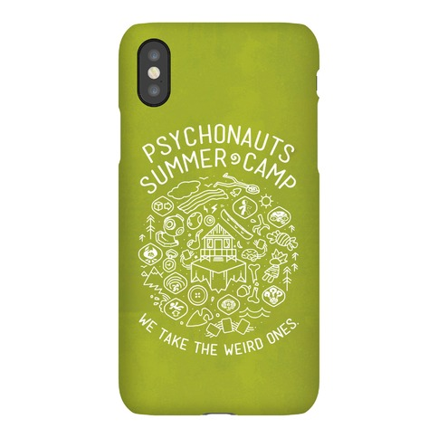 Psychonauts Summer Camp Phone Case