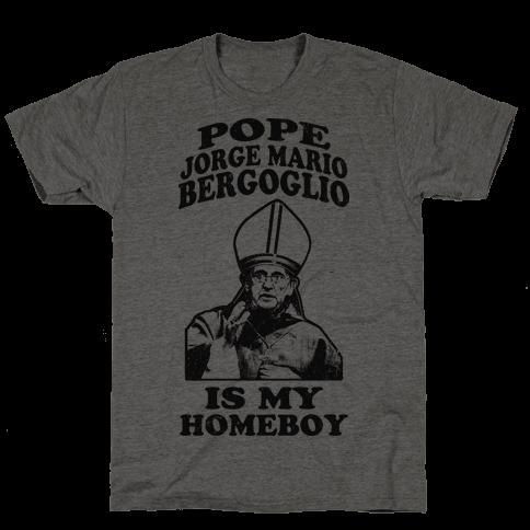 Pope Jorge Mario Bergoglio Is My Homeboy