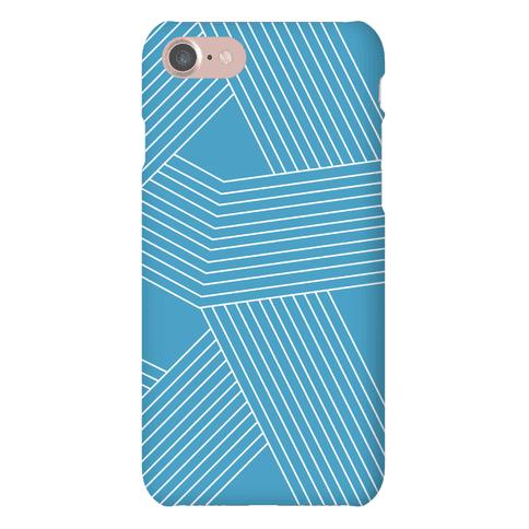 Crosshatch Pattern Case Phone Case