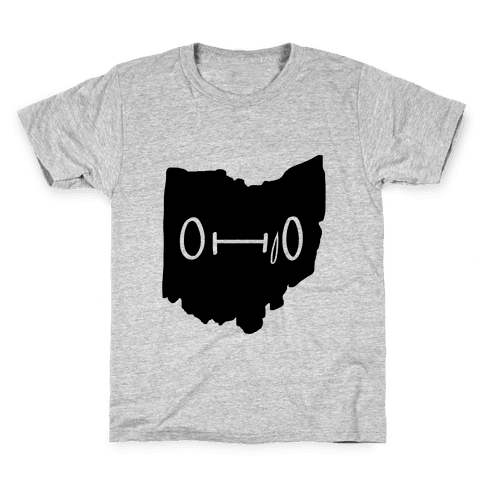 Ohio Looks Concerned Kids T-Shirt
