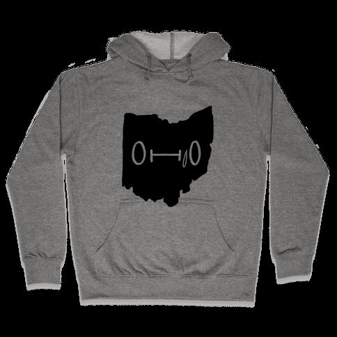 Ohio Looks Concerned Hooded Sweatshirt