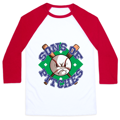 Sons of Pitches Baseball Tee