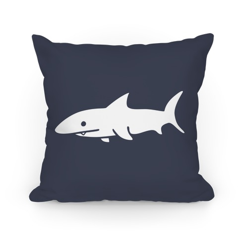 Big Shark Pillow (Navy) Pillow