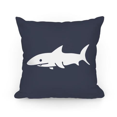 Big Shark Pillow (Navy)
