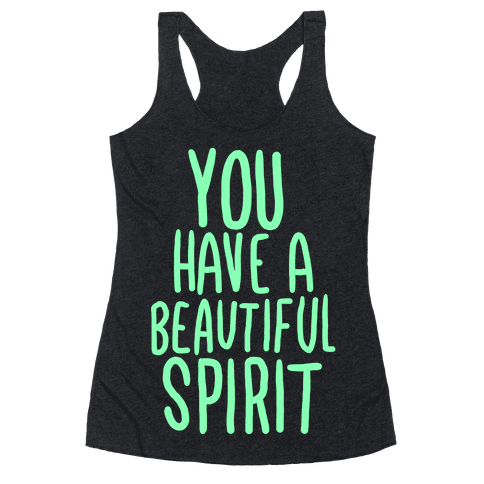 Beautiful Spirit Racerback Tank Top