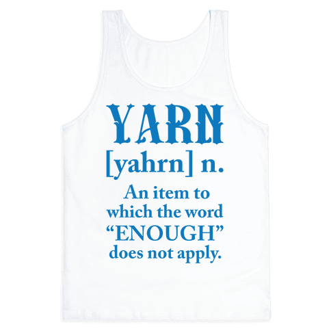 Yarn Definition Tank Top