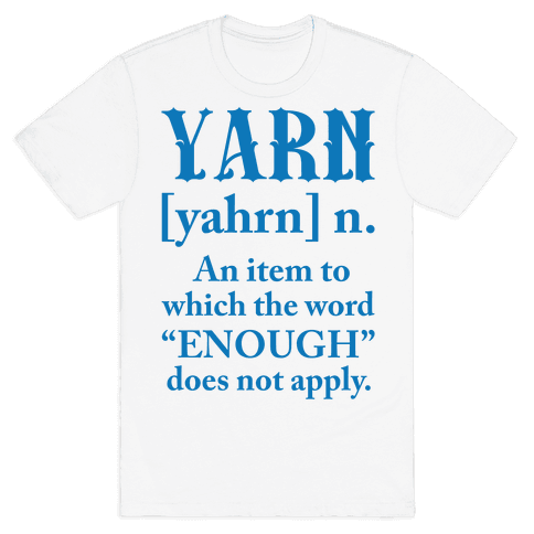 Yarn Definition Mens T-Shirt