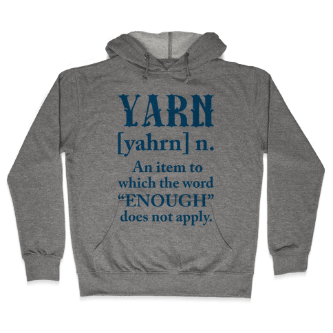 Yarn Definition Hooded Sweatshirt