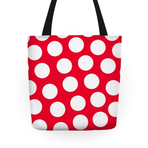 Red Polka Dot Tote Tote