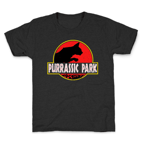 Purrassic Park Kids T-Shirt