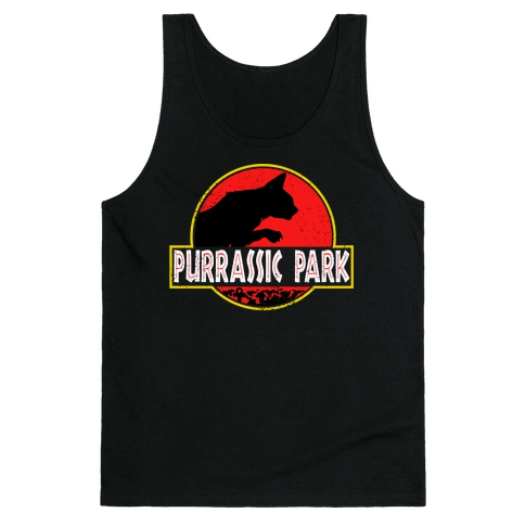 Purrassic Park Tank Top