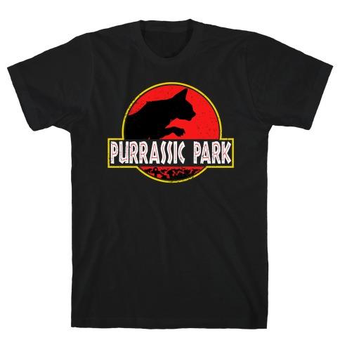 Purrassic Park T-Shirt