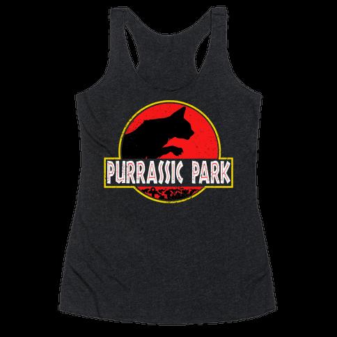 Purrassic Park Racerback Tank Top