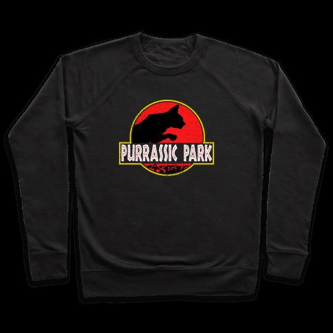 Purrassic Park Pullover