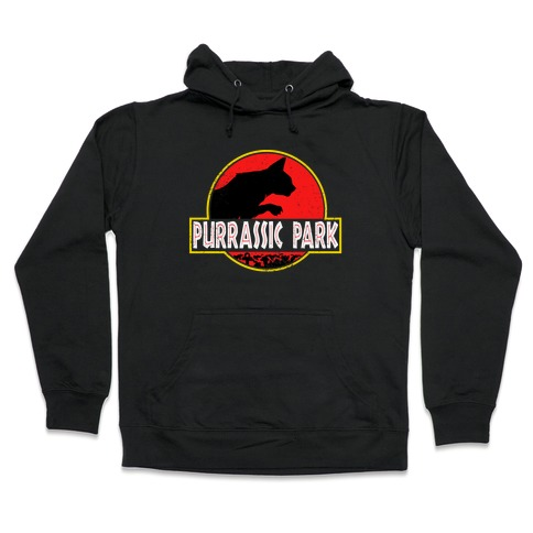 Purrassic Park Hooded Sweatshirt