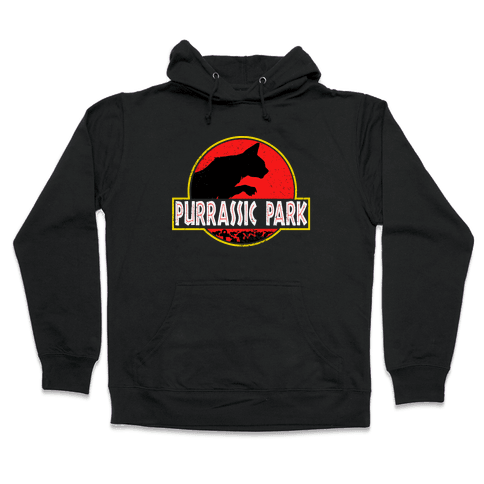Purrassic Park Hooded Sweatshirt
