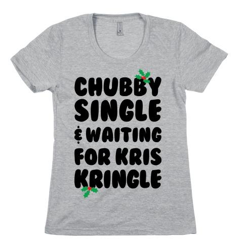 Chubby Christmas Womens T-Shirt