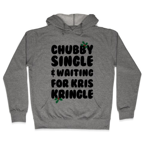 Chubby Christmas Hooded Sweatshirt