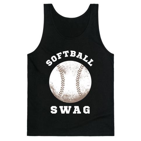 Softball Swag (Dark Tank) Tank Top