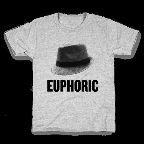 Euphoric Fedora Kids T-Shirt