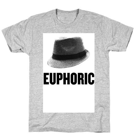 Euphoric Fedora Mens T-Shirt