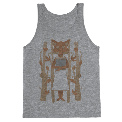 Well Read Fox Tank Top