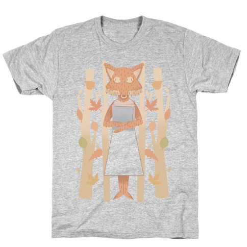 Well Read Fox T-Shirt