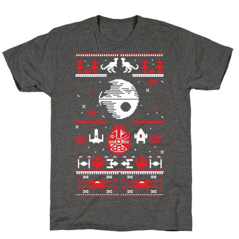 Scifi Christmas Sweater T-Shirt