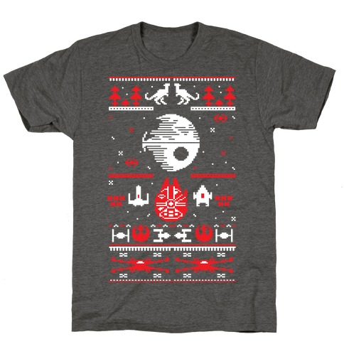Scifi Christmas Sweater T-Shirt