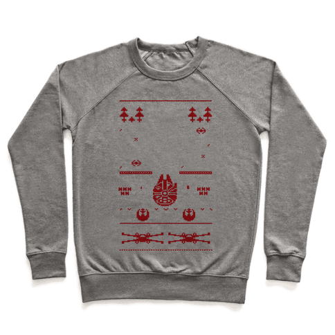 Scifi Christmas Sweater Pullover