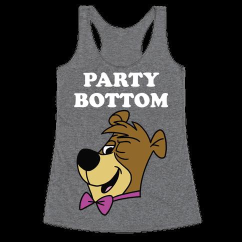 Power Top & Party Bottom (Cub) Racerback Tank Top