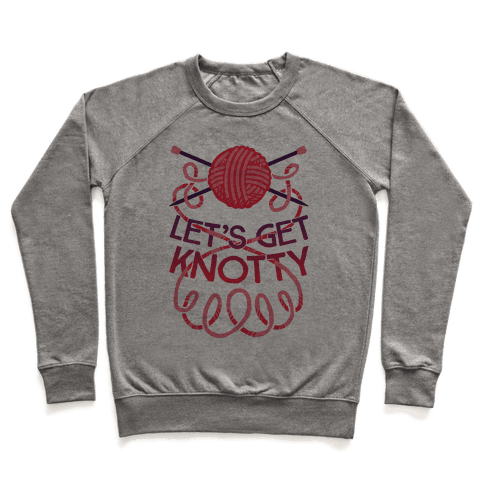 Let's Get Knotty (Knitting) Pullover