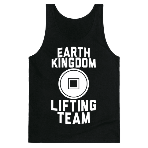 Earth Kingdom Lifting Team Tank Top