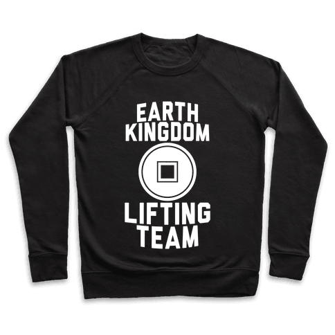 Earth Kingdom Lifting Team Pullover