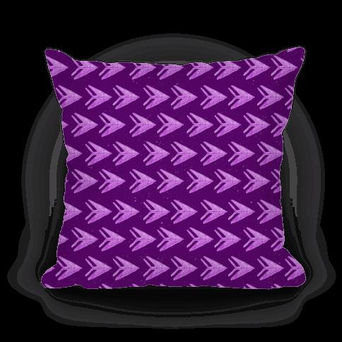 Purple Watercolor Arrow Pattern