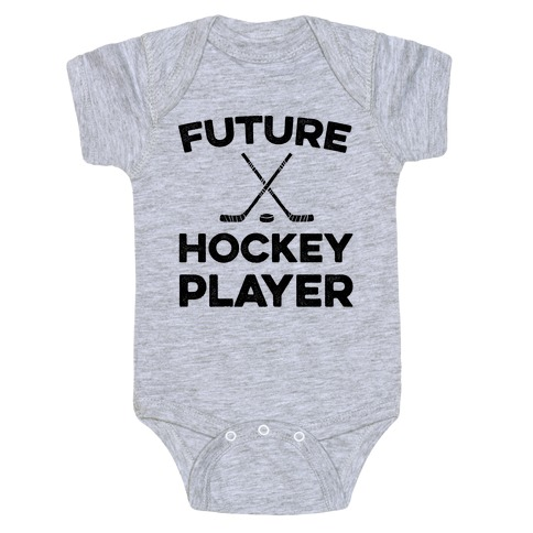 Future Hockey Player Baby Onesy