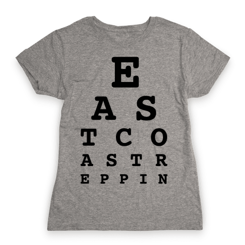 East Coast Reppin Womens T-Shirt