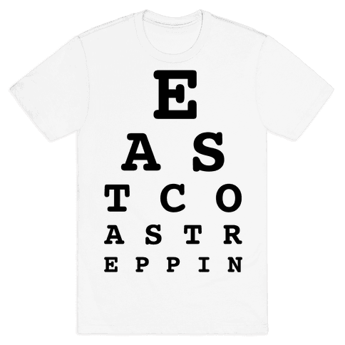 East Coast Reppin Mens T-Shirt