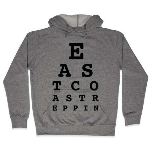 East Coast Reppin Hooded Sweatshirt