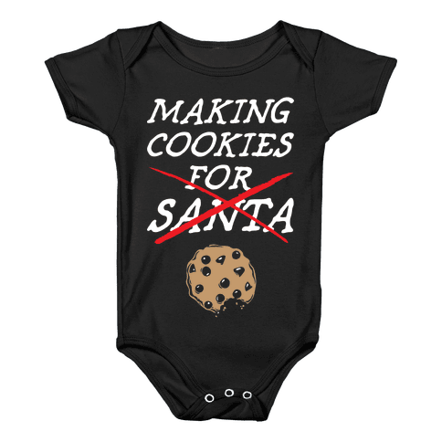 Making Cookies Baby Onesy