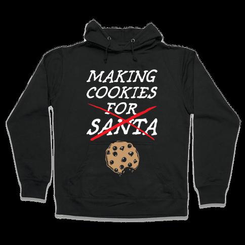 Making Cookies Hooded Sweatshirt