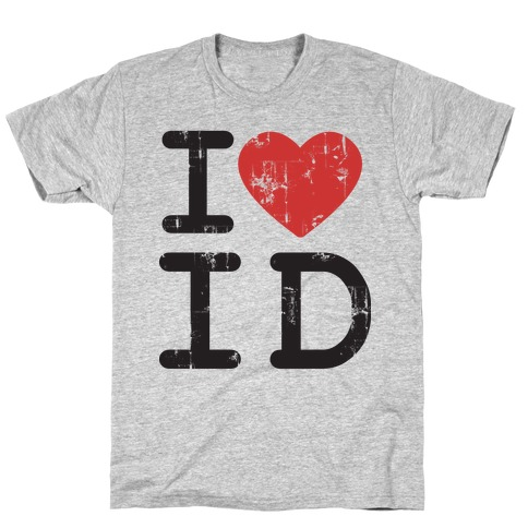 I Love Idaho Mens T-Shirt