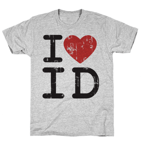 I Love Idaho Mens T-Shirt