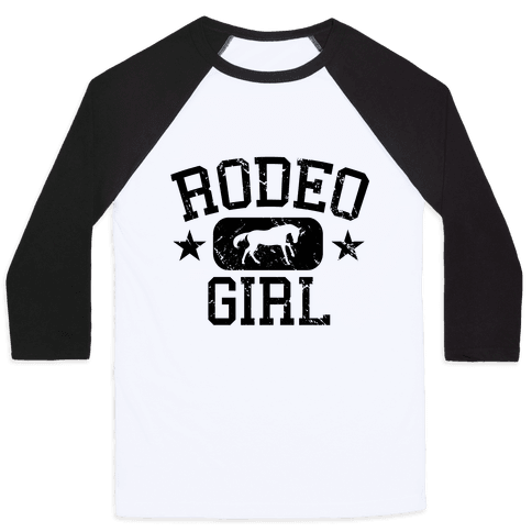 Rodeo Girl Baseball Tee