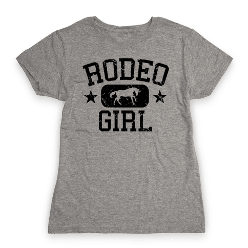 Rodeo Girl Womens T-Shirt