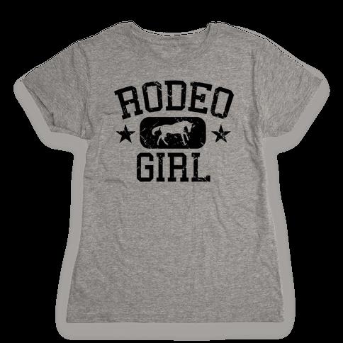 Rodeo Girl Womens T-Shirt