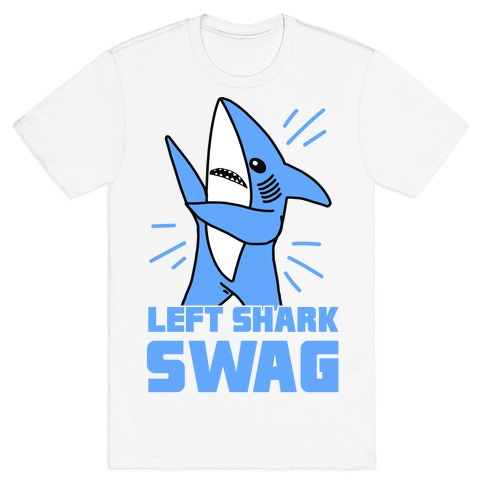 Left Shark Swag Mens T-Shirt
