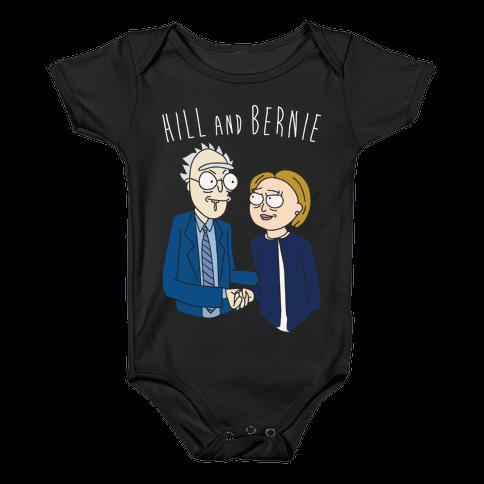 Hill And Bernie Parody Baby Onesy