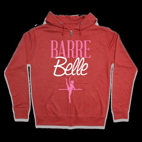Barre Belle Zip Hoodie